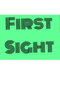 """Book cover """"First sight """""""