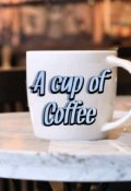 """Book cover """"a cup of coffee"""""""