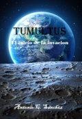 """Portada del libro """"Tumultus"""""""