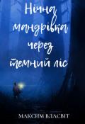"""Обкладинка книги """"Нічна мандрівка через темний ліс"""""""