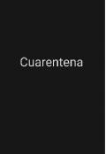 """Portada del libro """"Cuarentena"""""""