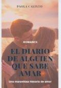"""Portada del libro """"El Diario de alguien que sabe amar"""""""