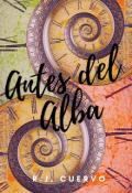 """Portada del libro """"Antes del Alba"""""""