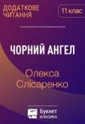 """Обкладинка книги """"Чорний ангел"""""""