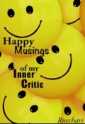 "Book cover ""Happy Musings of my Inner Critic"""