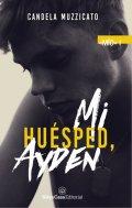 """Portada del libro """"Mi huésped, Ayden"""""""