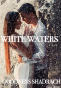 "Book cover ""White waters"""