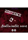 """Portada del libro """"Fragmentos & Sentimientos raros."""""""