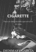 """Portada del libro """"Cigarette"""""""