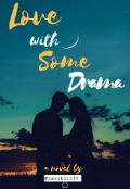 """Book cover """"Love with some drama"""""""