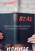 """Portada del libro """"Mi Amor No Real"""""""