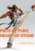 """Book cover """"Fists Of Fury , Heart Of Stone"""""""