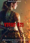 """Portada del libro """"El Virus Az1 """""""