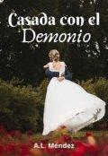 """Portada del libro """"Casada con el demonio"""""""