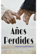 """Portada del libro """"Años Perdidos"""""""