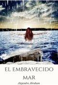 "Portada del libro ""El embravecido mar"""