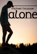 "Book cover ""Alone"""