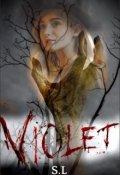 """Portada del libro """"Violet"""""""