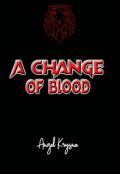 "Book cover ""A change of blood"""
