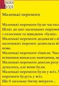 "Обкладинка книги ""Маленькі перемоги"""