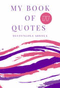 "Book cover ""My Book of Quotes """