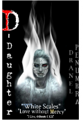 "Book cover ""D-Daughter: Whitescales of Destiny"""