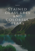 "Portada del libro ""Stained glass eyes and colorful tears"""