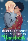 """Portada del libro """"Declaraciones y otras sorpresas navideñas   Drarry"""""""