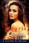 """Book cover """"A L E G R I A"""""""