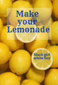 "Book cover ""Make your Lemonade """