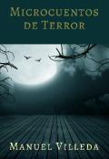 """Portada del libro """"Microcuentos de terror"""""""
