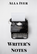 "Book cover ""Writer's notes"""