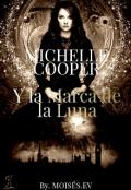 """Portada del libro """"Michelle Cooper y la marca de la luna."""""""