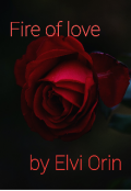 "Book cover ""Fire of love"""