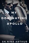 """Book cover """"My Dominating Apollo"""""""