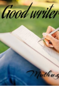 "Book cover ""Good writer"""