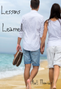 "Book cover ""Lesson Learned"""
