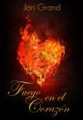 """Portada del libro """"Fuego en el Corazón"""""""