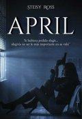 """Portada del libro """"April ©"""""""