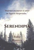 """Portada del libro """"Serendipia"""""""