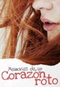 """Portada del libro """"Memorias de un corazón roto"""""""