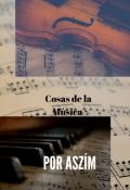 """Portada del libro """"Cosas de la Música """""""