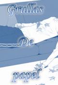 """Portada del libro """"Grullas de papel (yuyuu)"""""""
