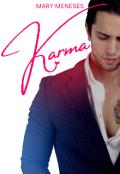 """Portada del libro """"Karma"""""""