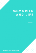 "Book cover ""Memories and life"""