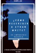 """Portada del libro """"¿cómo describir a Ethan White? """""""
