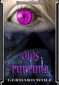 """Portada del libro """"Universo Heraldo: Ojos Purpura"""""""