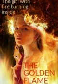 "Book cover ""The golden Flame"""