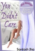 "Book cover ""You Didn't Care"""