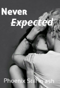"Book cover ""Never expected """